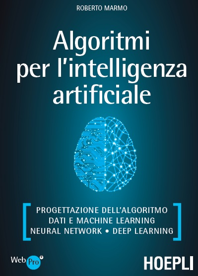 libro Algoritmi Intelligenza Artificiale